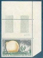 France -1962 - Télécommunications Spatiales -  Y&T N° 1360 ** Neuf Luxe 1er Choix  (gomme D´origine Intacte) - France