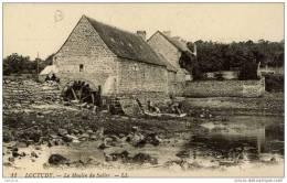 29-LOCTUDY-Le Moulin Du Suller-à Eau Roue Visible-animée - Loctudy