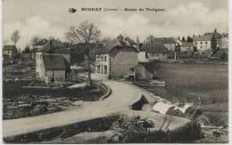 1988 - Corréze -    BUGEAT   :  ROUTE  DE  TREIGNAC  1915 - France