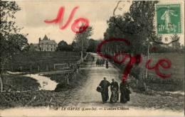 44 Le Gavre, L'ancien Château, CPA Très Bel état - Le Gavre