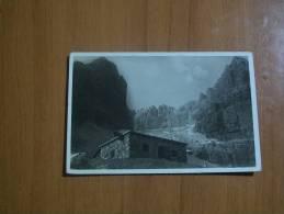 Cartolina Postale Postcard Gruppo Di Brenta Rifugio Silvio Agostini In Val D'ambies Viaggiata Manca Francobollo No Stamp - Trento