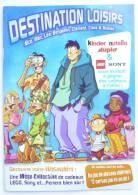 LIVRET NUTELLA LEGO KINDER - DESTINATION LOISIRS - ILLUSTRATIONS TARQUIN - AVEC UN JEU A DETACHER - Advertentie