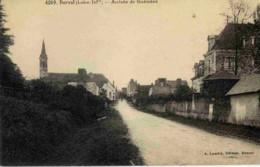CPA, Loire Atlantique, Derval, Arrivée De Guéméné - Derval