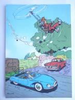 CARTE Postale SPIROU N°35 - SUPPLEMENT AU JOURNAL 1986 COUVERTURE DU RECUEIL 53 FRANQUIN - MARSUPILAMI - Tarjetas Postales