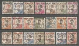 Kouang-Tchéou - Petit Lot De 21 Timbres Divers - Kouang-Tchéou (1906-1945)