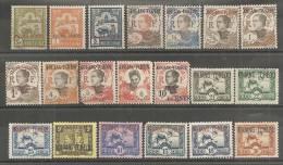 Kouang-Tchéou - Petit Lot De 20 Timbres Divers - Kouang-Tchéou (1906-1945)