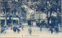 Cpa Caen 14 Calvados Place ,st Pierre - Caen