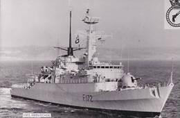 SHIPPING - H.M.S. AMBUSCADE.  PLAIN BACK - Warships