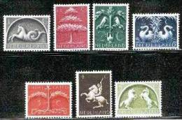 Ned 1943 German Symbols Serie Mint Never Hinged  405-411 #61 - Period 1891-1948 (Wilhelmina)
