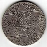 MAROC - 1/2 DIRAHAM (1/20 Rial)  - 1321 H PARIS - Abdul Aziz I - - Marocco