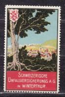 Vignette, Schweizerische Unfallversicherungs AG In Winterthur (37185) - Erinofilia