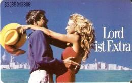 TARJETA DE ALEMANIA DE TABACO LORD EXTRA (TOBACCO-SNUFF) - Publicidad