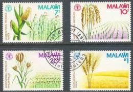 Malawi 1981 : Mi. 364/367 ● = Getreide / Grain / Cereals  . . S3006 - Malawi (1964-...)