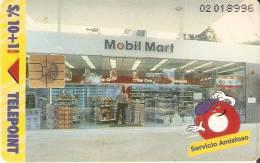 TARJETA DE PERU DE 10 SOLES  DE MOBIL MART - Peru