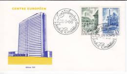 600. Luxembourg, 1966, Cover - Luxembourg