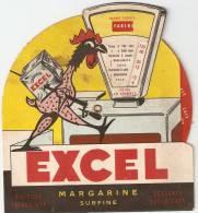 Margarine Excel Carte Recto Verso A Système - Autres