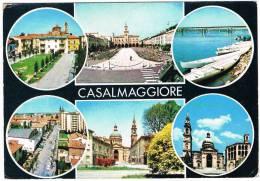 CASALMAGGIORE - VEDUTE - NON VIAGGIATA - Segni Di Invecchiamento - Cremona
