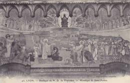 France Lyon Basilique de Notre Dame de Fourviere Mosaique de Sai