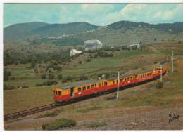 VILLEFRANCHE  PETIT TRAIN SANG ET OR TAMPON ST ROMEU - Transports