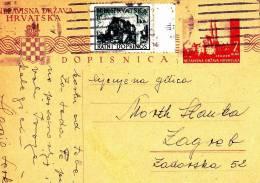 DOPISNICA  --  NEZAVISNA DRZAVA HRVATSKA - Croatia