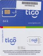 LAOS - TIGO GSM, Mint - Laos