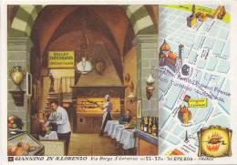 Hôtels Et Restaurants - Publicité - Italie -  Firenze - Florence - Giannino In San Lorenzo - Hotels & Restaurants