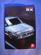 PORTUGUESE EDITION CITROEN BX CATALOGUE CAR VOITURE EDITION PORTUGAISE - Automobili