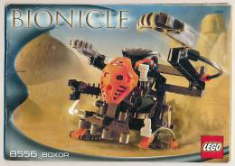 Catalogue LEGO, Bionicle, 8556, Boxor (2002), 60 Pages (14,5 Cm Sur 21 Cm), Descriptif De Montage, Construction... - Catalogs