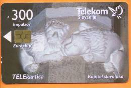 SLOVENIA - SLV 247, Kapitel Slavoloka, 2.984ex, 10/99, Used As Scan - Slovénie