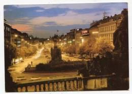 CZECH REPUBLIC - AK138501 Praha - Prague - Prag - Wenceslas Square - República Checa