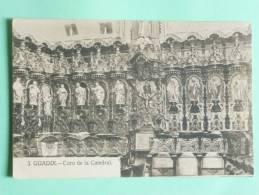 GUADIX -  Coro De La Catedral - Espagne