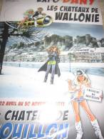 Affiche DANY Exposition Château De Bouillon 2011 - Affiches & Offsets