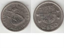 Portugal 2,5 Escudos 1972  Unc !!!!   * - Portugal