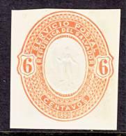 El Salvador  Cut Square  9  *  1890 Issue - El Salvador
