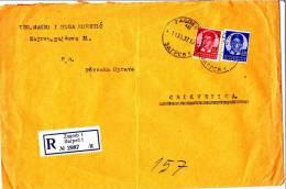 RECO BRIEF ZAGREB  -  1937 - Unclassified