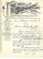 Mouscron - 1894 - Charles Bixner - Transports Internationaux, Marties Et Terrestres - Transport