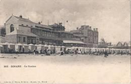-35-  DINARD  Le Casino Vue Peu Courante  Coll WARON Saint Brieuc Demas Librairie  Précurseur Excellent état - Dinard