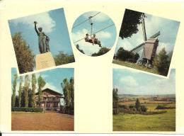 Westouter / Café Restaurant Du Luna Park / Moulin Molen Mill / Téléphérique Kabelbaan Cableway - Heuvelland