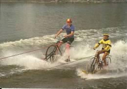 België Belgique Jabbeke Klein Strand / Vélo Fiets Bicycle / Ski Nautiqe Waterski / Novy ABB - Ski Nautique
