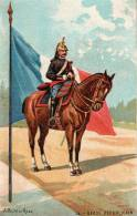 CPA Militaire GARDE REPUBLICAIN - Uniformes