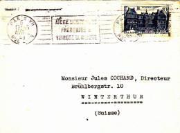 LETTRE - Poststempel (Briefe)