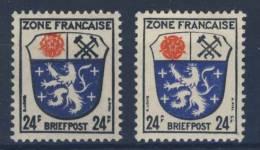 Allgemeine Ausgabe Michel No. 9 dz / ez ** postfrisch