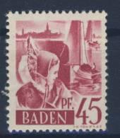 Baden Michel No. 9 y w II ** postfrisch