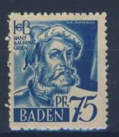 Baden Michel No. 11 w I ** postfrisch