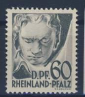 Rheinland Pfalz Michel No. 27 y VII ** postfrisch