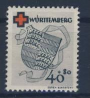 W�rttemberg Michel No. 43 A ** postfrisch