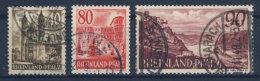 Rheinland Pfalz Michel No. 39 - 41 gestempelt used