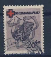 Rheinland Pfalz Michel No. 43 A gestempelt used