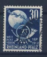 Rheinland Pfalz Michel No. 52 gestempelt used