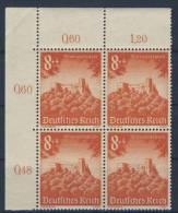 Deutsches Reich Michel No. 755 ** postfrisch Viererblock